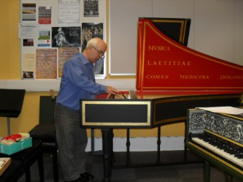 Harpsichord Servicing Repairs And Protective Covers