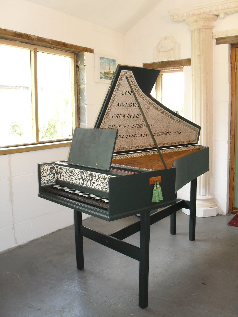 Harpsichord servicing, repairs and protective covers.